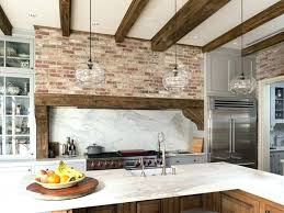 kitchens with brick walls kitchen ideas with brick walls brick feature wall kitchen kitchen