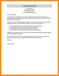 sample cover letter registered nurse choice image letter samples