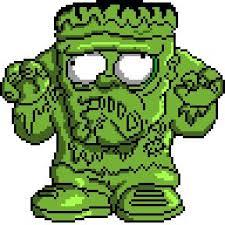 38 pixel art trash pack characters images
