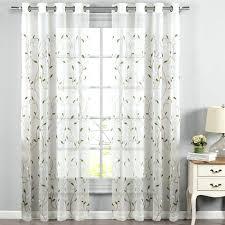 Sheer Grommet Curtains Awesome Grommet Sheer Curtains U2013 Muarju