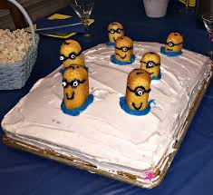 3d Minions Cake Recipe Easy To Create Sheet Cake For The Minions