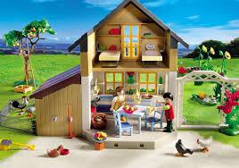 Country Farm House Farm House With Market 5120 Playmobil Usa