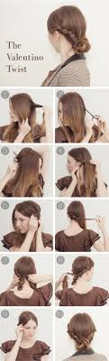 step by step twist hairstyles the valentino twist tutorial design every day