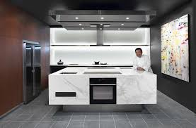 design exquisite modern minimalist kitchen design with marble