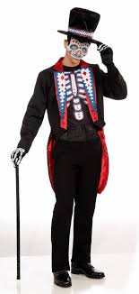day of the dead costumes day of the dead costume men s candy apple costumes