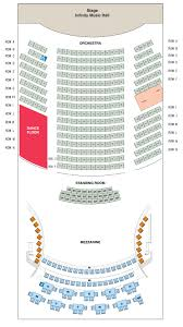 orchestra floor plan seating chart infinity hall hartford