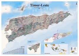 Cabo Map Maps Of East Timor Detailed Map Of East Timor Timor Leste In