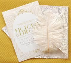 great gatsby wedding invitations great gatsby wedding invitation suite
