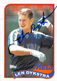 Lenny Dykstra Continues To Prove He S A Must Follow On Twitter - lenny dykstra memorabilia autographed signed