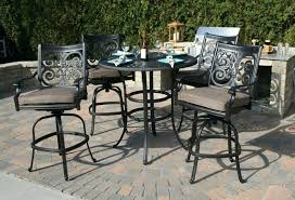 Bar Patio Furniture Clearance Patio Ideas Outdoor Patio Furniture Bar Height Dining Set Cinder