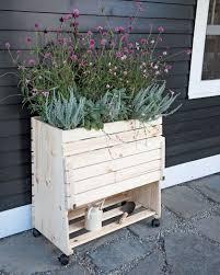 rolling planter gardener u0027s supply