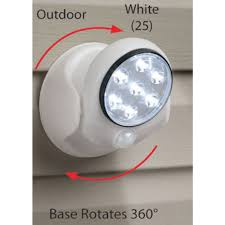 Motion Activated Cordless Light Outdoor Motion Activated Cordless Light Aa Battery Power 5w 360
