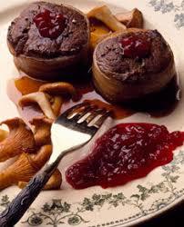 cuisiner des airelles recette de médaillons de chevreuil et marmelade d airelles