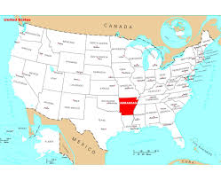 Map Of Confederate States by Maps Of Arkansas State Collection Of Detailed Maps Of Arkansas