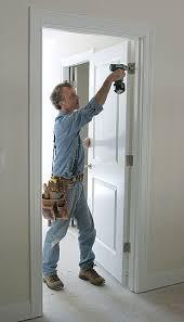 Swing Door Hinges Interior Hinge Adjustment For A Door S Fit Homebuilding