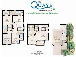 four bedroom townhomes 4 bed 3 5 bath apartment in wellington fl the quaye at wellington