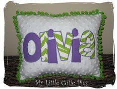 Personalized Girls Bedding by Medium Minky Blanket Pink Baby Pink Lime Green Black