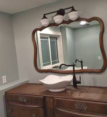 bathroom vanity makeover in java gel stain general finishes