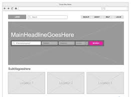 create wireframes