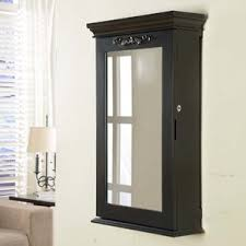 Wall Mount Jewelry Cabinet Wall Mounted Jewelry Armoires You U0027ll Love Wayfair