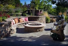 Firepit Seating Outdoor Pit Seating Design Delightful Outdoor Ideas