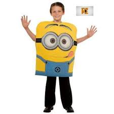 Baby Minion Costume Baby U0026 Kids Costumes Halloween Costumes The Home Depot
