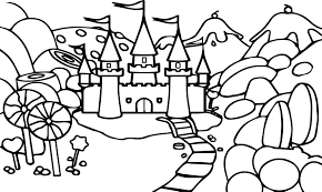 great castle coloring page 8 4384