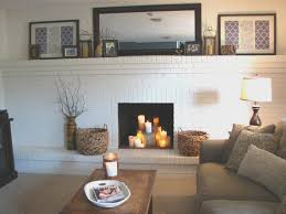 fireplace creative how to paint brick fireplace white room