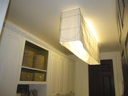 kitchen fluorescent light covers astonishing how to cover an ungly fluorescent light fixture pic of