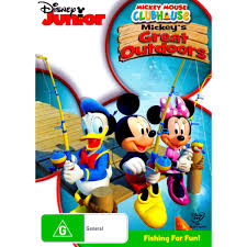 mickey mouse clubhouse mickey u0027s great outdoors dvd big w