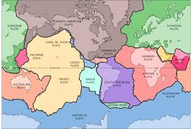 Plate Boundaries Map Grade 6 Earthquakes Science Lesson Plan John Muir Education