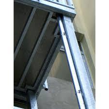 balkon stahlkonstruktion preis 3 00 1 25m balkon stahlbalkon weimar stahl verzinkt mit montage