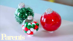 christmas ornaments to make with kids at home easy homemade