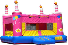 party rental sacramento bounce time party rental pink birthday cake bounce house rentals