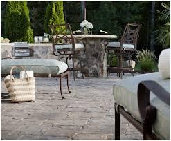 backyards winsome flagstone patio pavers design ideas for