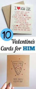 valentines day cards for him 10 s day cards for him my list of lists