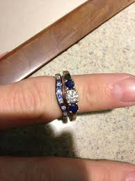 sapphire wedding ring sapphire wedding band pics weddingbee