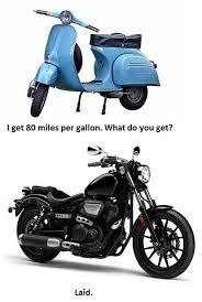 Motorcycle Meme - scooter vs motorcycle meme guy