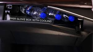 nissan frontier 3 0 zdi t glove box with cooling youtube