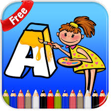 abc coloring pages for kids app theappmedia