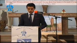 Comme Meme - 1 zakaria el hamel director of pacifist journal in morocco
