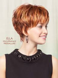 short layered hairstyles with short at nape of neck ella wig by tressallure my style pinterest wig full bangs