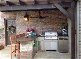 How To Build An Outdoor Kitchen Counter by How To Build An Outdoor Kitchen With Metal Studs 15 Steps