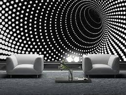 Wallpaper For Bedroom Walls Wallpaper Mural Photo Black Abstract Giant Wall Decor Paper Poster