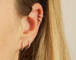 tiny hoop earrings small hoop earrings etsy