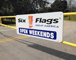 Six Flags Over Texas Calendar 2015 Prediction Great America U0027s U0027major Announcement U0027 Is Green Lantern