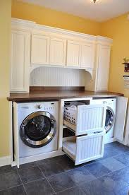 Laundry Bench Height Washer Dryer Pedestals A Washer Dryer Pedestal Made Of Wood To
