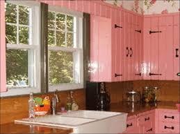 kitchen oak cabinets black countertops dark wood kitchen small
