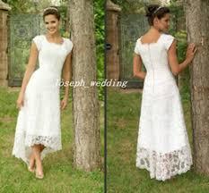 discount casual tea length lace dress 2017 casual tea length