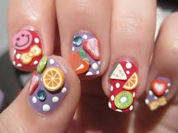 Food Nail Art Designs Fruit Inspired Manicures